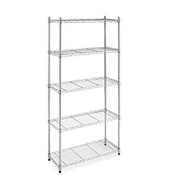 Whitmor® 5-Tier Chrome Supreme Shelving