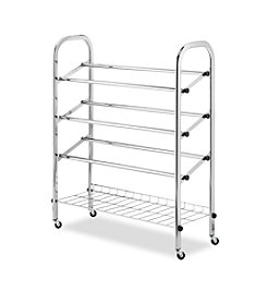 Whitmor® Rolling Shoe Rack