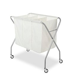 Whitmor® Epoxy Chrome Laundry Sorter