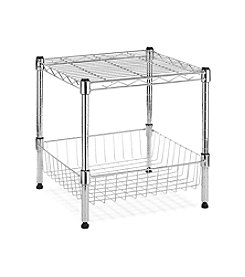 Whitmor® Supreme Stack Shelf with Basket