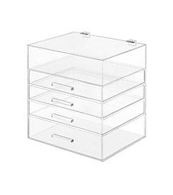 Whitmor® 5-Tier Acrylic Cosmetic Organizer