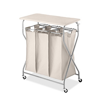 Whitmor® EasyLift Laundry Sorter Table