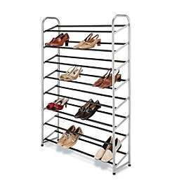 Whitmor® Silver Epoxy Metal Shoe Tower