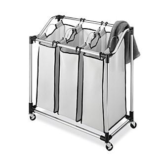 Whitmor Chrome Laundry Sorter Mesh Bag