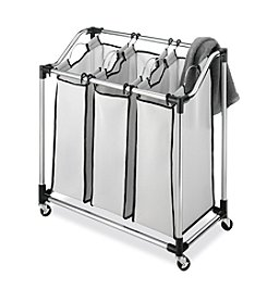 Whitmor Chrome Laundry Sorter Mesh Bag
