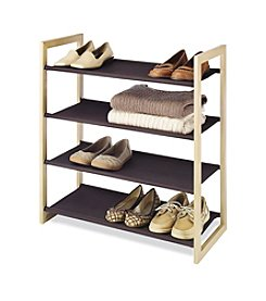 Whitmor Wood And Fabric Shelves
