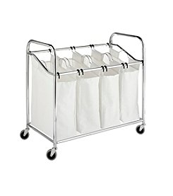 Whitmor® Chrome 4-Section Laundry Sorter