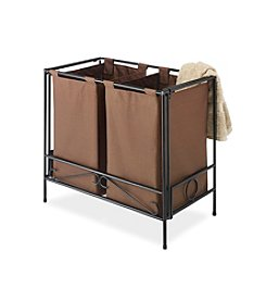 Whitmor Java Folding Double Hamper