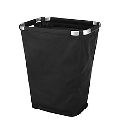 Whitmor Black Aluminum Frame Hamper