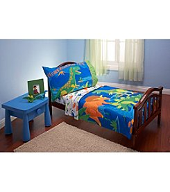 Everything Kids by NoJo Dinosaurs 4-pc. Toddler Comforter Set