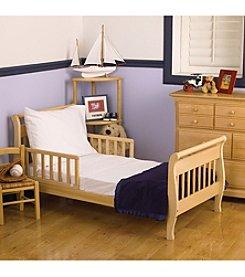NoJo Toddler White Sheet Set
