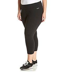 Calvin Klein Performance Plus Size Solid Leggings