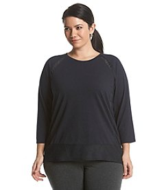 MICHAEL Michael Kors® Plus Size Sheer Panel Top