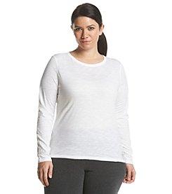MICHAEL Michael Kors® Plus Size Studded Logo Tee