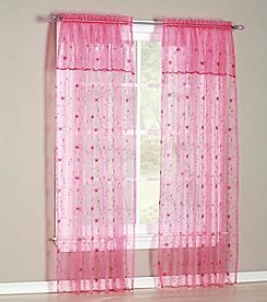 No. 918 Flora Rod Pocket Window Curtain