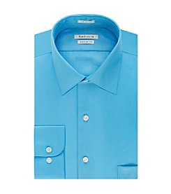 Van Heusen® Men's Big & Tall Regular Fit Solid Spread Collar Dress Shirt