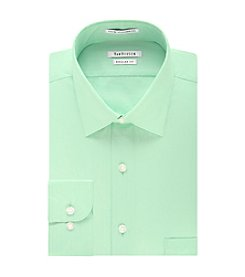 Van Heusen® Men's Big & Tall Regular Fit Herringbone Spread Collar Dress Shirt