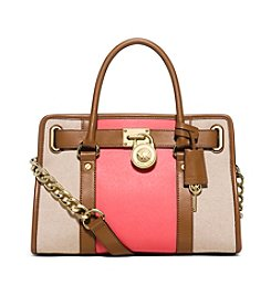 MICHAEL Michael Kors® Hamilton Stripe East West Satchel
