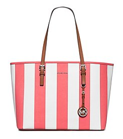 MICHAEL Michael Kors® Jet Set Stripe Medium Travel Tote
