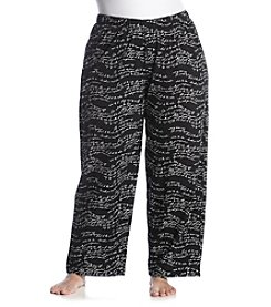 HUE® Plus Size Printed Lounge Pants