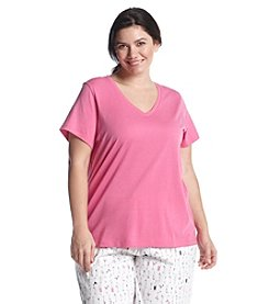 HUE® V Neck Lounge Top