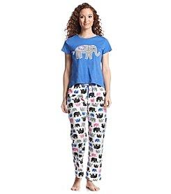 PJ Couture Animal Pajama Set