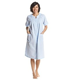 Miss Elaine® Button Front Robe