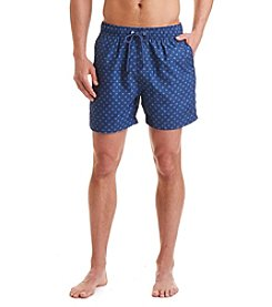 Nautica® Men's Quick-Dry Dot Print Swim Trunks