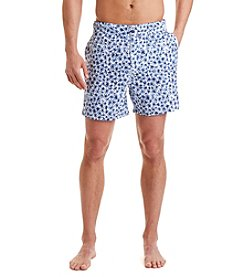 Nautica® Men's Quick-Dry Micro Floral Swim Trunks
