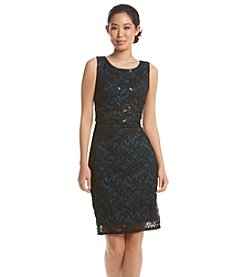Sangria™ Batik Beaded Lace Dress