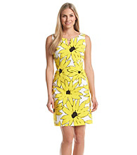 Ronni Nicole® Keyhole Sunflower Dress