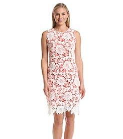 Ronni Nicole® Lace Embroidered Sheath Dress