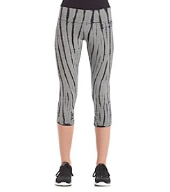 Calvin Klein Performance Microstripe Cropped Leggings