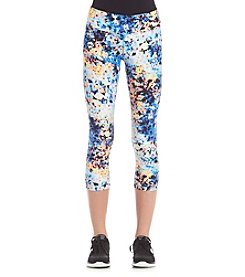 Calvin Klein Performance Oleander Print Cropped Tights