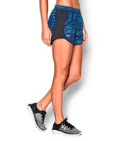 Under Armour® Fly-By Printed Run Shorts