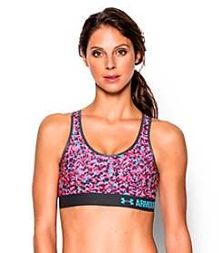 Under Armour® Printed Mid Sports Bra