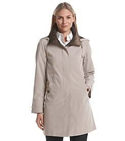 Gallery® Hooded Trench Coat