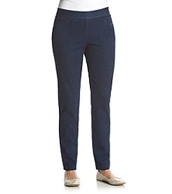 Alfred Dunner® Sausalito Slim Jegging Pants