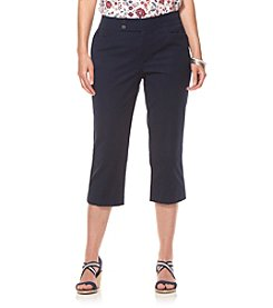 Chaps® Plus Size Stretch-Twill Straight Leg Pants