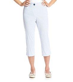 Studio Works® Stripe No Gap Crop Pants