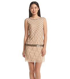 Adrianna Papell® Beaded Blouson Cocktail Dress