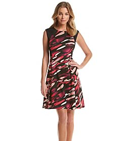 Nine West® Sleeveless Fit And Flare Dress