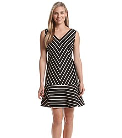 Nine West® Sleeveless Scuba Dress