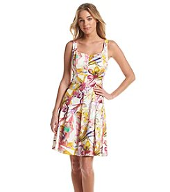 Nine West® Wallpaper Tank Dress