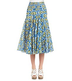 Chelsea & Theodore® Moroccan Print Skirt