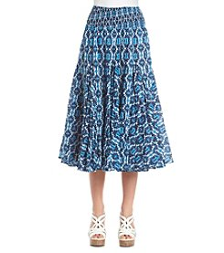 Chelsea & Theodore® Ocean Print Skirt