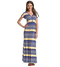 Chelsea & Theodore® Striped Maxi Dress