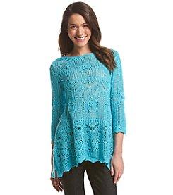 Jeanne Pierre® Crochet Pullover Top