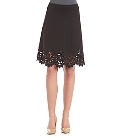 Spense Laser Cut Skirt