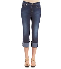 Nine West Jeans® Wide Cuff Capri Jeans